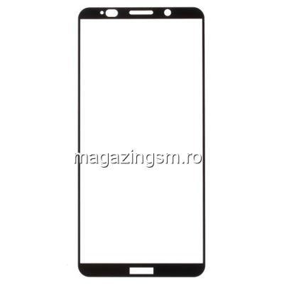 Geam Folie Sticla Protectie Display Huawei Mate 10 Pro Acoperire Completa Negru