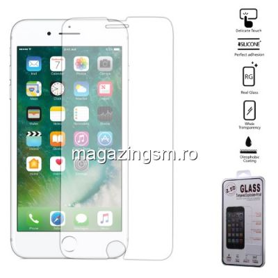 Geam Folie Sticla Protectie Display iPhone 8 Plus / 7 Plus Arc Edge