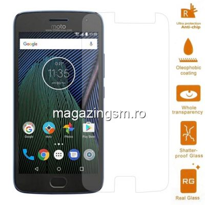 Geam Folie Sticla Protectie Display Motorola Moto G5 Plus Arc Edge