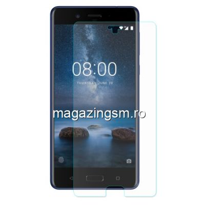 Geam Folie Sticla Protectie Display Nokia 8 Tempered