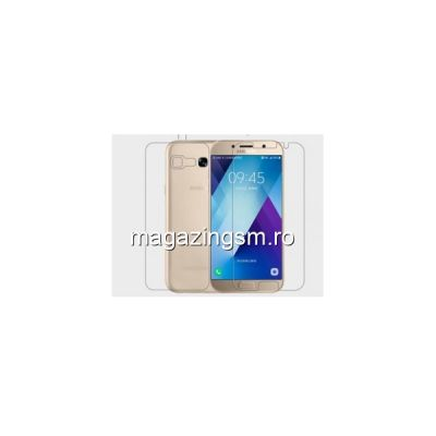 Folie Protectie Display si Capac Baterie Spate Samsung Galaxy A5 A520