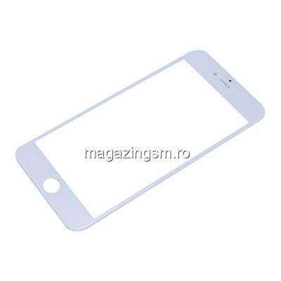 Geam iPhone 6 Cu Rama Alb