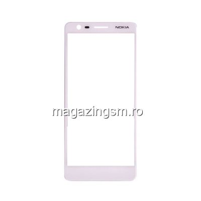 Geam Nokia 3,1 Alb