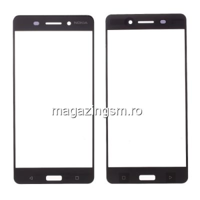 Geam Nokia 6 2017 Negru