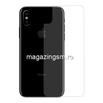 Folie Sticla Capac Baterie Spate iPhone X