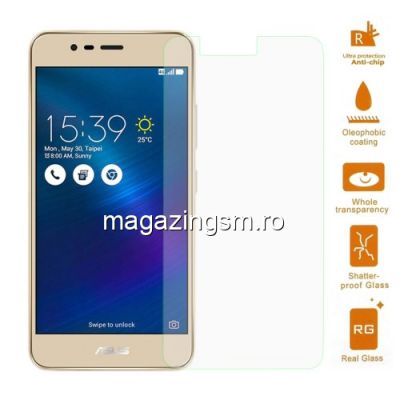 Geam Protectie Display Asus Zenfone 3 Max ZC520TL Arc Edge