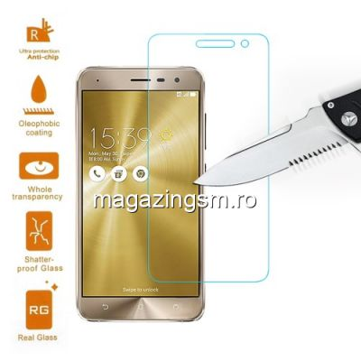 Geam Protectie Display Asus Zenfone 3 ZE520KL Tempered