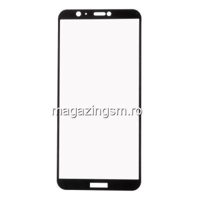 Folie Sticla Securizata Huawei P Smart Acoperire Completa Neagra