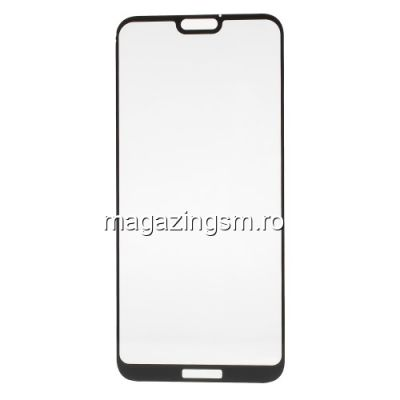 Geam Protectie Display Huawei P20 Lite Acoperire Completa 3D Negru