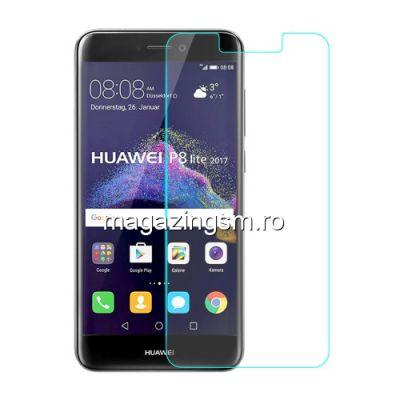 Geam Protectie Display Huawei P8 Lite 2017 Arc Edge