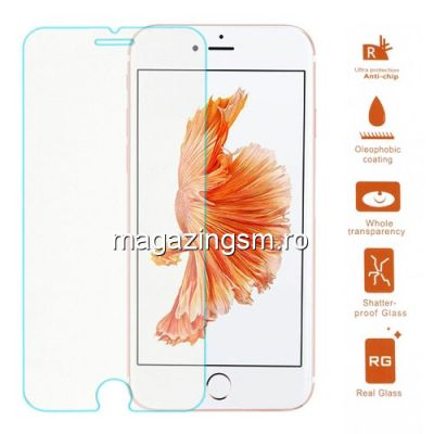 Geam Protectie Display iPhone 8 Plus Tempered