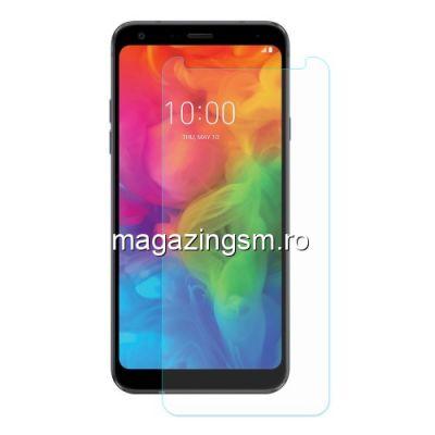 Geam Protectie Display LG Q7 / Q7 Plus Arc Edge