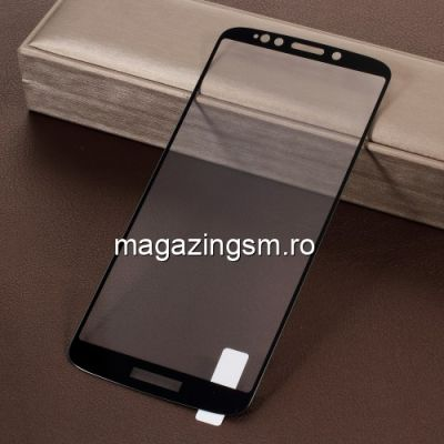 Geam Protectie Display Motorola Moto E5 Plus Acoperire Completa Negru