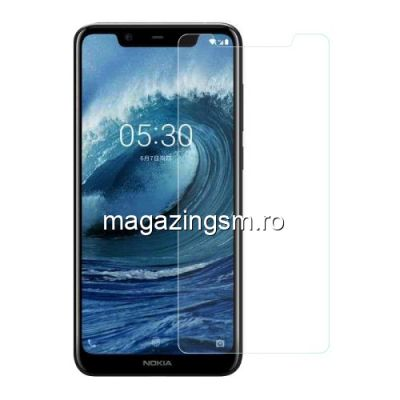 Geam Protectie Display Nokia X5 Arc Edge