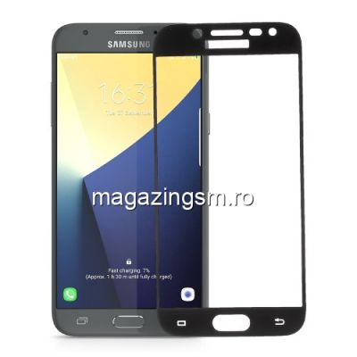Geam Protectie Display Samsung Galaxy J5 J530 2017 Acoperire Completa Negru