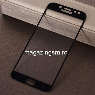 Geam Protectie Display Samsung Galaxy J7 J730 2017 Acoperire Completa 2,5D Negru