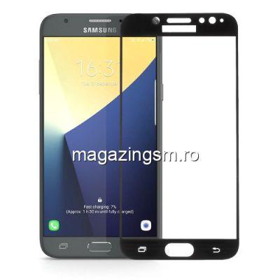 Geam Protectie Display Samsung Galaxy J7 J730 2017 Acoperire Completa Negru