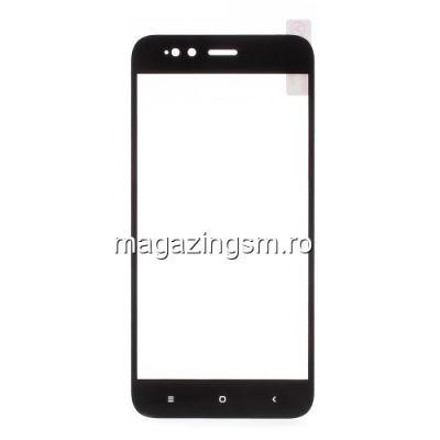Geam Protectie Display Xiaomi Mi A1 Acoperire Completa Negru