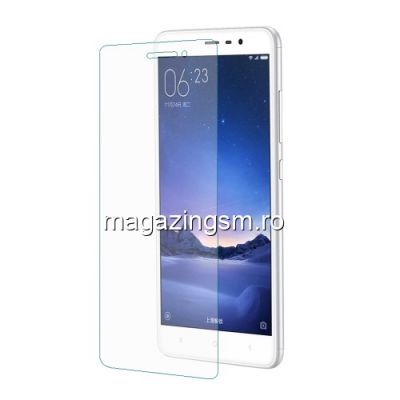 Geam Protectie Display Xiaomi Redmi Note 3 Tempered
