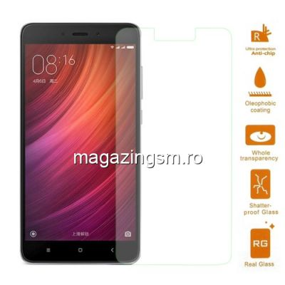 Geam Protectie Display Xiaomi Redmi Note 4 Arc Edge