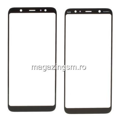 Geam Samsung Galaxy A6 Plus 2018 Negru