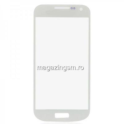 Geam Samsung I9190 I9195 Galaxy S4 mini Alb