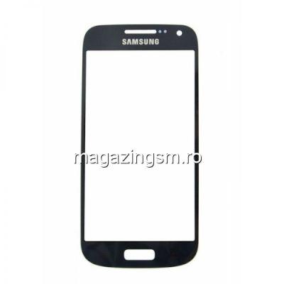 Geam Samsung I9190 I9195 Galaxy S4 mini Negru