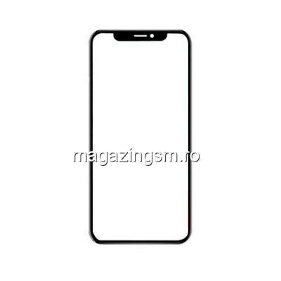 Geam Sticla iPhone XS Negru