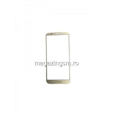 Geam Sticla Motorola Moto E5 Plus Auriu