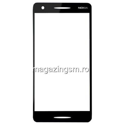 Geam Sticla Nokia 2,1 Negru