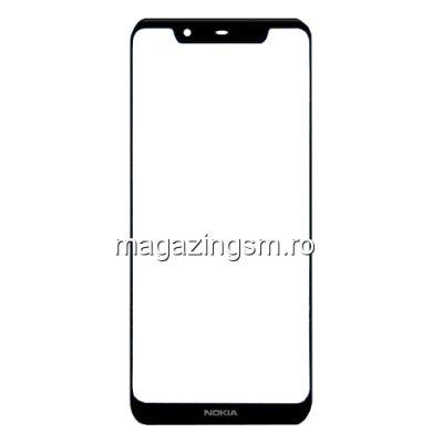 Geam Sticla Nokia 5,1 Plus Negru