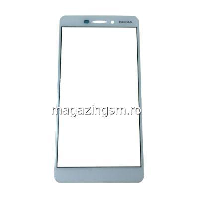 Geam Sticla Nokia 6,1 Alb