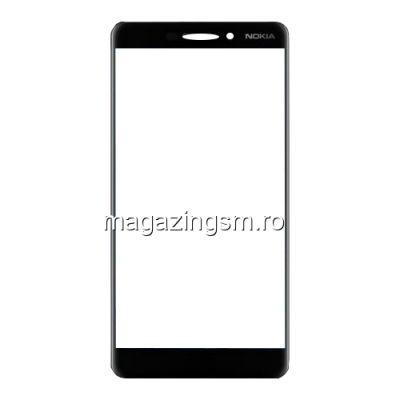 Geam Sticla Nokia 6,1 Negru