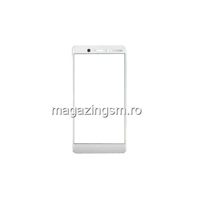 Geam Sticla Nokia 7 Plus Alb