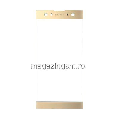 Geam Sticla Sony Xperia XA2 Plus Auriu
