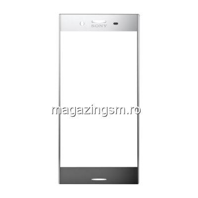 Geam Sticla Sony Xperia XZ Premium Argintiu