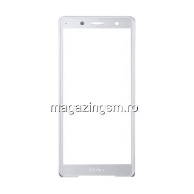 Geam Sticla Sony Xperia XZ2 Argintiu