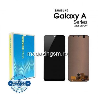 Display Samsung Galaxy A50 A505 Original Negru