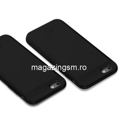 Husa Acumulator Extern iPhone 6 / 6s / 7 / 8 / SE 2020 Power Bank 5000mAh Neagra