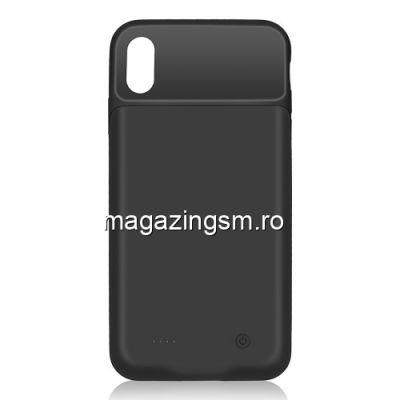Husa Acumulator Extern iPhone X / XS Power Bank 4000mAh Neagra
