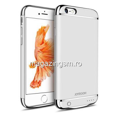 Husa Acumulator Extern Power Bank 3000mAh iPhone 6 / 6S Argintie