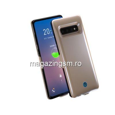 Husa Acumulator Extern Samsung Galaxy S10 7000mAh Aurie