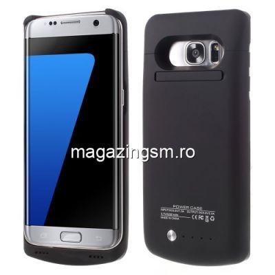 Husa Acumulator Extern Power Bank Samsung Galaxy S7 Edge G935 5200mAh Neagra