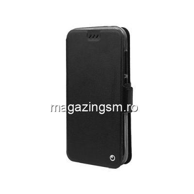 Husa Alcatel U5 3G Flip Cu Stand Neagra