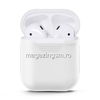 Husa Apple AirPods 2016 TPU Alba