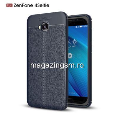 Husa Asus Zenfone 4 Selfie TPU Albastra