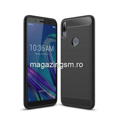 Husa Asus Zenfone Max Pro (M1) ZB601KL / ZB602KL TPU Carbon Neagra
