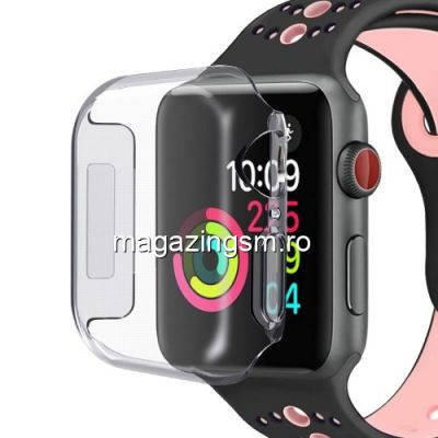 Husa Ceas Apple Series 4 44mm TPU Transparenta