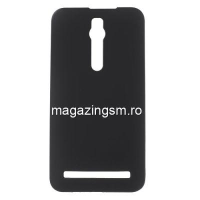 Husa Dura Asus Zenfone 2 ZE550ML ZE551ML Cauciucata Neagra
