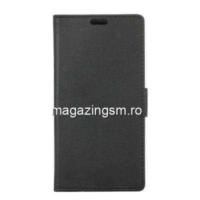 Husa Flip cu Stand Asus Zenfone 4V V520KL Neagra
